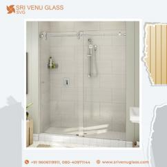 Shower Partition Glass design in Bangalore