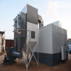 Acoustic Chamber Dust Collector