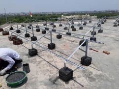 Solar Panel Mounting - Structure, Clamp, Accessories, Rail