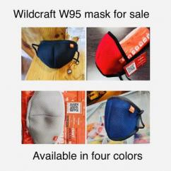 Original wildcraft mask for sale
