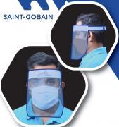 Saint Gobain Polycarbonate Face Shield Face Gard