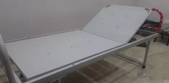 Follding bed for patient
