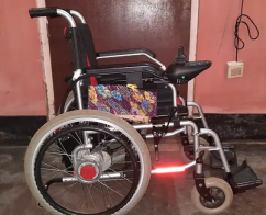 Electric power wheelchair for patient