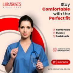 Buy Custom Stitched Hirawats Medical Scrubs at Best Price - Visakhpatnam