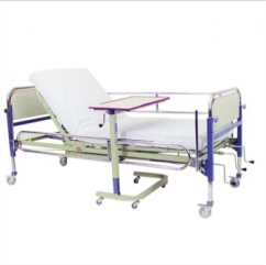 Swivel Wheel Rolling Hospital Bed Tray