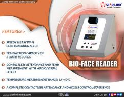 Bio Face Reader With Thermal Temperature screening