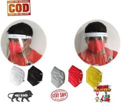 Face Shield and Set of 5 Face Mask