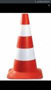 Asian Loto Traffic cone