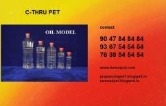 OIL PET BOTTLES MANUFACTURERS IN CHENNAI 9367545454 RAMNAD PET