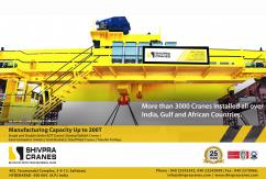 Semi EOT Cranes Manufacturers And Suppliers in Hyderabad - Shivpra Cranes