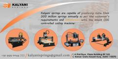 Spring manufacturers in Delhi, Manufacturing of Springs