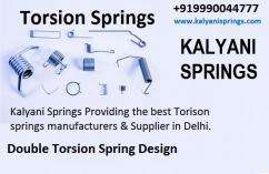 Compression Springs and Torsion Springs Manufacturers in Delhi