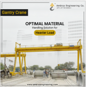 Leading Gantry Crane Manufacturing Company - Industrial Machinery