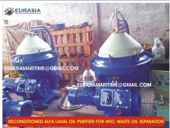Alfa Laval industrial centrifuge oil purifier pyrolysis oil purifier