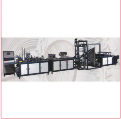 Non Woven Box Bag Making Machine by SL Machinery