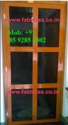 Mosquito net screened Main Doors