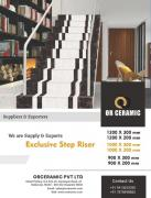 Stair Tiles - Step Riser Tiles Latest Price, Manufacturers & Suppliers