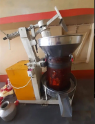 Cold pressed oil machine