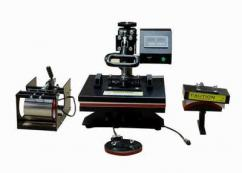 5-in-1 Machine, Combo Heat Press, T-Shirt & Mug Printing
