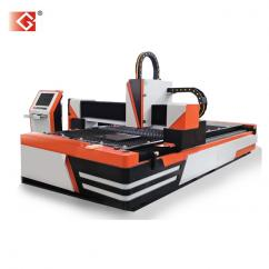 Golden laser 750w sheet metal fiber laser cutting machine price GF-1530