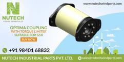 Nutech Wind Parts Suppliers - Optima coupling with Torque Limiter