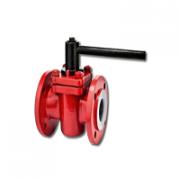 PTFE Lined Plug Valves & Teflon Lined Valves Manufacturer