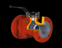 Lined Checked  PTFE Lined Ball Valves Manufacturer