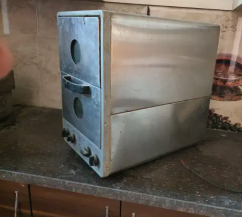 Hotel oven for pizzas