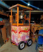 All new Popcorn machine electric and gas