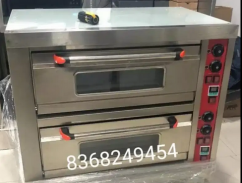 UNUSED COMMERCIAL DOUBLE DECK PIZZA OVEN