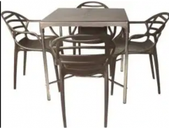 Chairs and tables for hotels and food joints