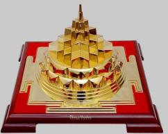 Shree Yantra 24ct Gold Plated