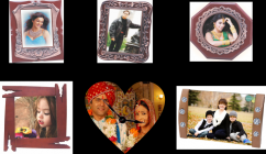personalised gifts  frame model