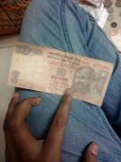 ten rupees note 786 serial no
