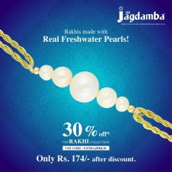 Are you looking to buy Real Freshwater Pearl Rakhi