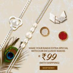 Are you looking to buy Rakhi for your brother for this Rakshabandhan