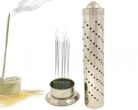 Premium Stainless Steel Agarbatti Stand & Holder