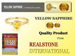 1 yellow sapphire wholesale best price