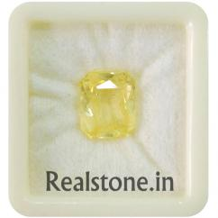 Ceylon  4 Ratti yellow Sapphire Buy Fair Price at Realstone Mumbai