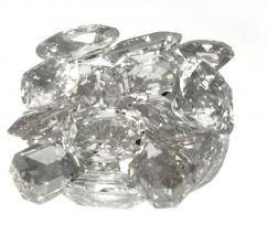 White Sapphire Stone or White Pukhraj