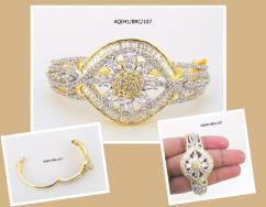 Fashionage American Diamond Awesome Bracelet