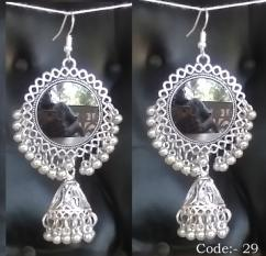 Fashion Ethnic stone earring yjje0049