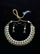 Kundan Pearl Jewellery Necklace Wholesale and Retail Price