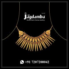 Gold Necklace Designs Online at an Affordable Price.