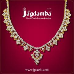 Buy Stunning Diamond Necklace Online