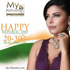 Up To 30 OFF Jewellery Sale this Republic Day Jewellery Sale