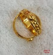 ARTIFICIAL IMPON 1GM GOLD PLATED TOE RINGS