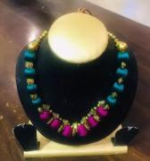 Silk thread jewellery