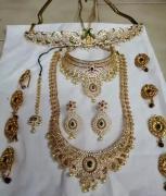beautiful bridal set