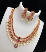Traditional Gold Plated Bridal Set